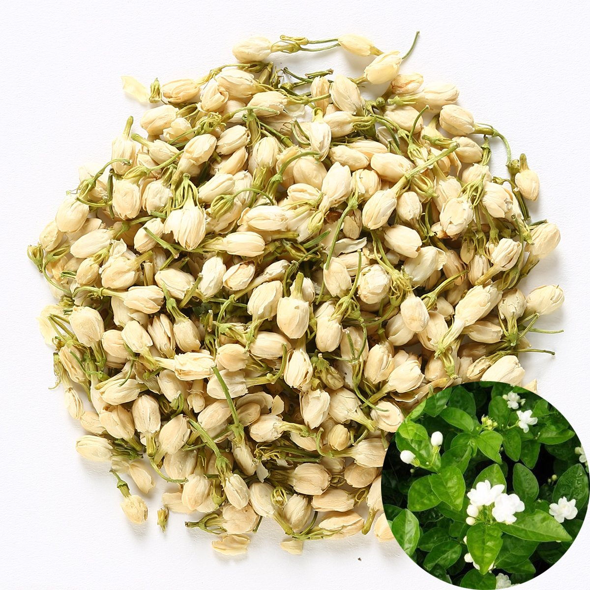 Amazon Tooget Fragrant Natural Pure Jasmine Buds Organic Dried