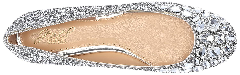 ae50e6510931 Amazon.com  Badgley Mischka Women s Mathilda Ballet Flat  Shoes