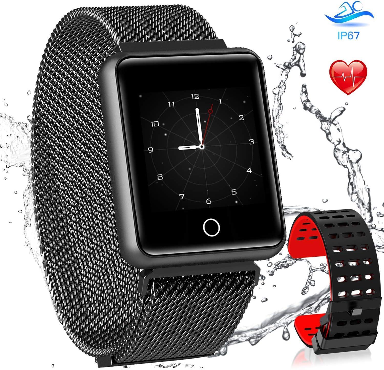 AGPTEK Smartwatch Mujer, Reloj Inteligente Deportivo Impermeable ...