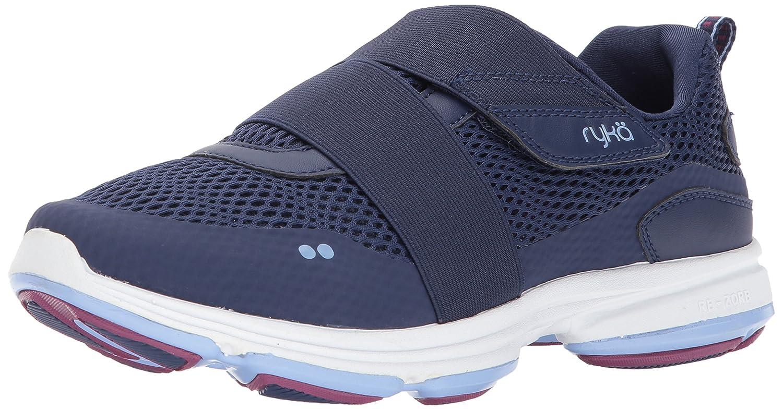 Ryka Women's Devotion Plus Cinch Walking Shoe B06XCNLY2W 10 B(M) US|Blue/Berry