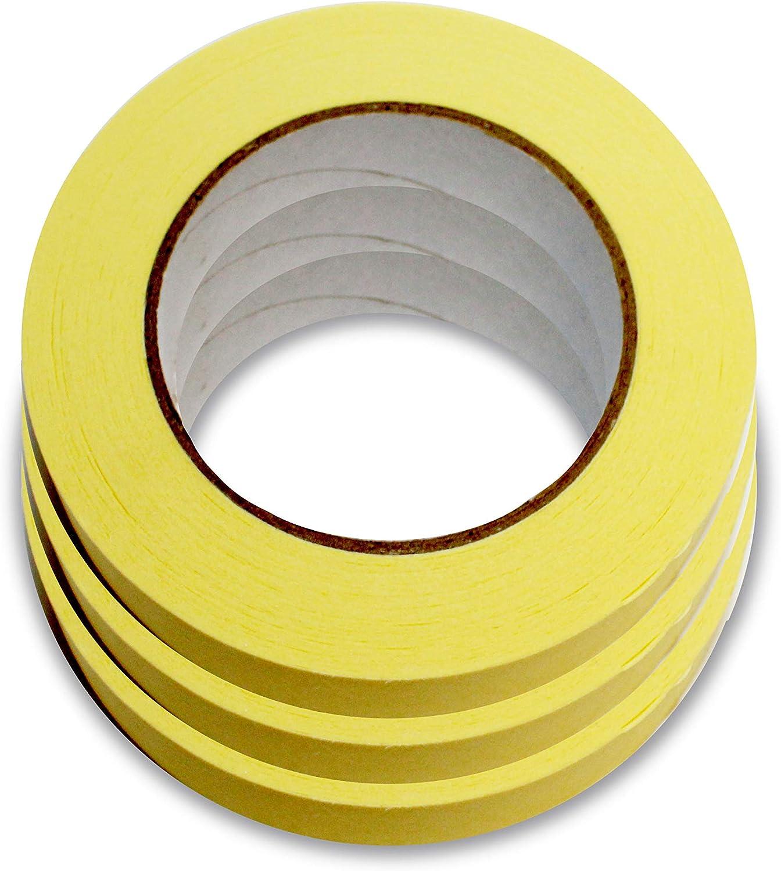 Malerkrepp Abdeckband Kreppband Abklebeband Klebeband 19//30//50mm x50m Malerband