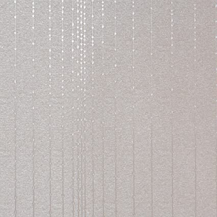 Gleam Silver Modern Wallpaper For Walls Double Roll By Romosa Wallcoverings Ll7508