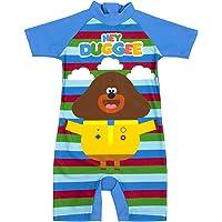 Hey Duggee Swimsuit Boys Cbeebies Sun Safe Swimming Costume Kids
