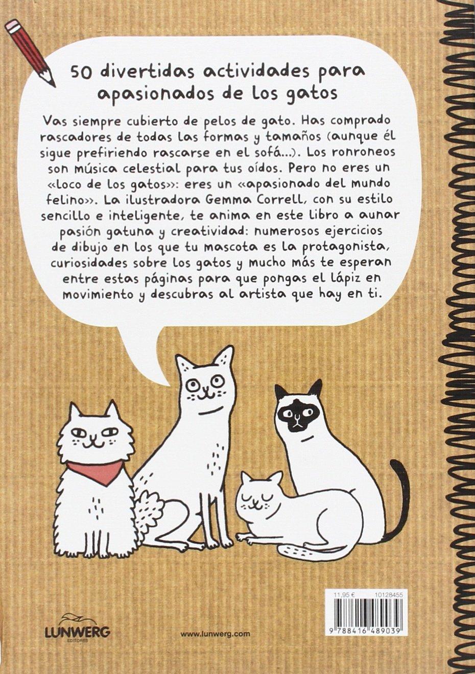 Garabatos para locos por los gatos: Gemma Correll: 9788416489039: Amazon.com: Books