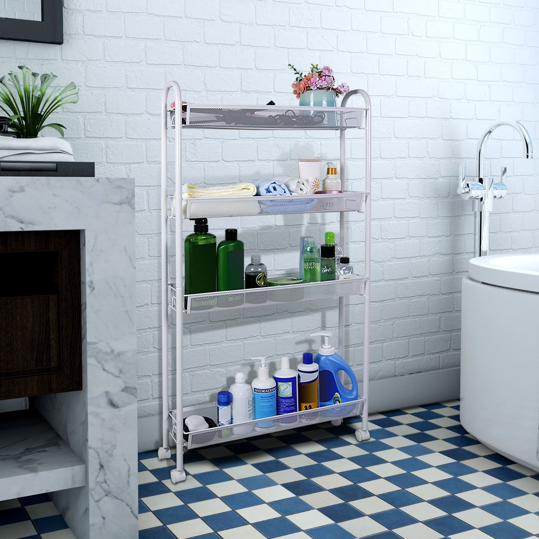 Amazon.com - Lifewit 4-Tier Gap Kitchen, Bathroom Slim Storage Rack ...