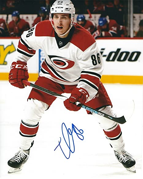 Autographed Teuvo Teravainen 8x10 Carolina Hurricanes Photo at ... 503581e3c