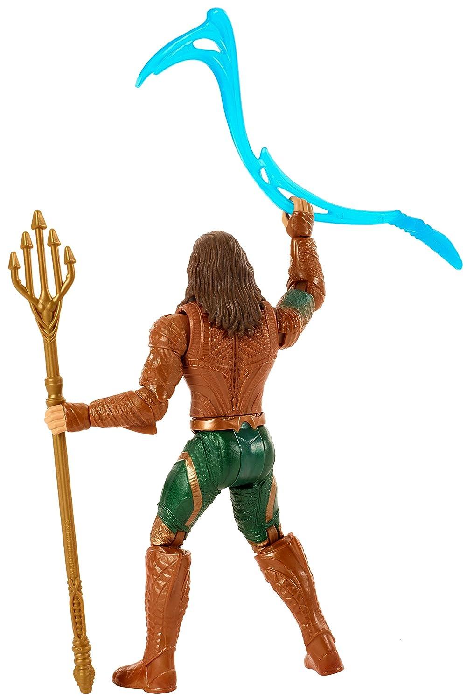 6 6 FGG67 Mattel DC Justice League Movie Aquaman Figure
