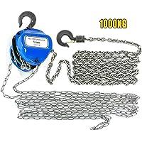 OUKANING - Polipasto de cadena (1000 kg, 1