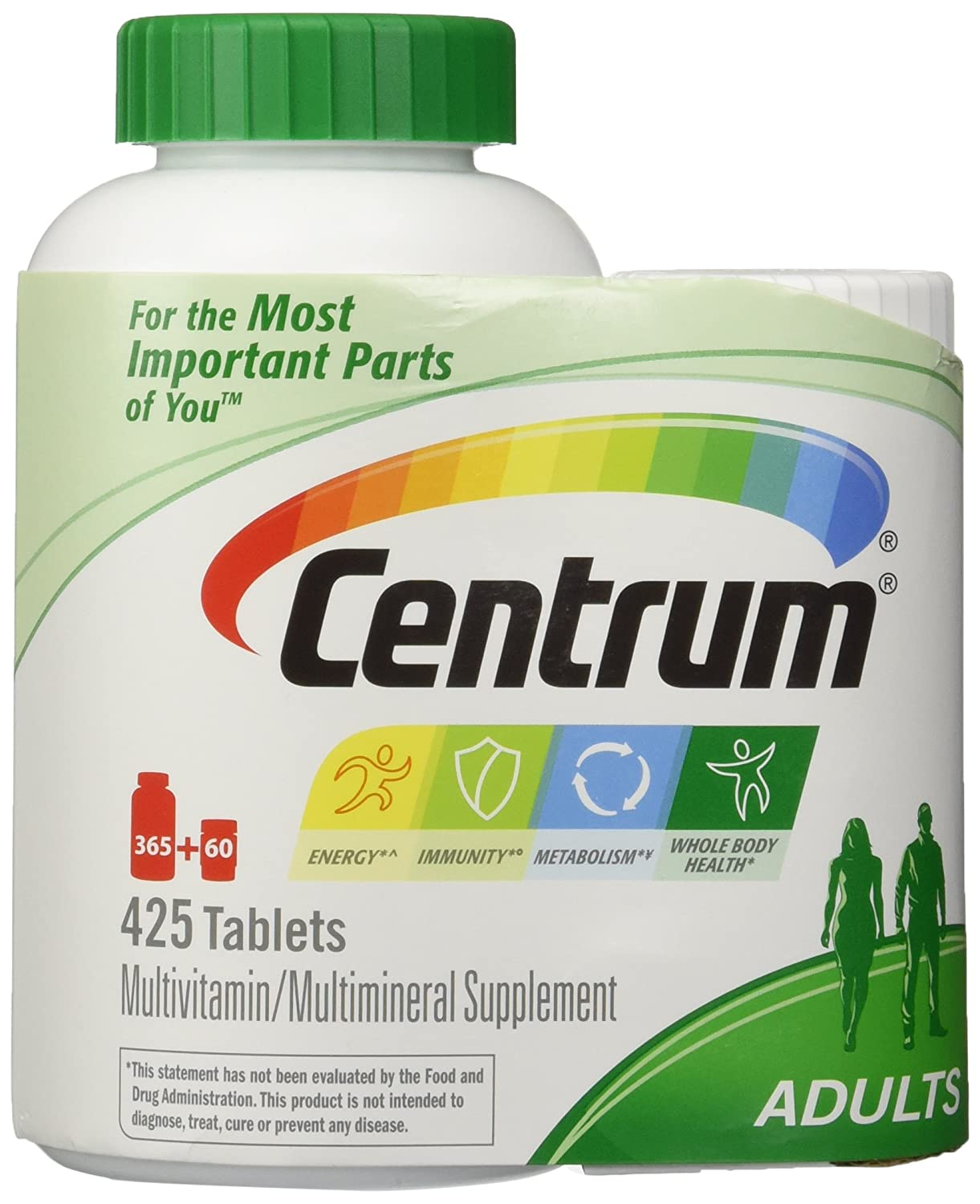Centrum Base Adult Multivitamin Supplement, 425 Count