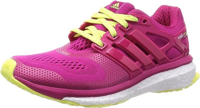adidas Energy Boost ESM W, Zapatillas para Mujer, Rosa/Amarillo, 36 2/3 EU: Amazon.es: Zapatos y complementos