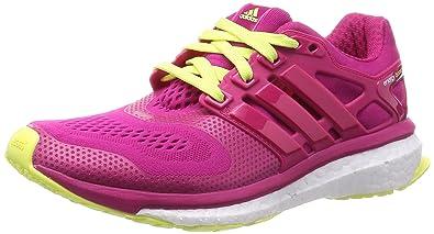 buy popular 84cb2 8f9a9 adidas Energy Boost ESM, Damen Laufschuhe, Mehrfarbig - rosagelb - Größe