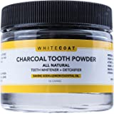 All Natural Teeth Whitening Tooth and Gum Powder with Coconut Activated Charcoal - Safe Effective Tooth Whitener Solution