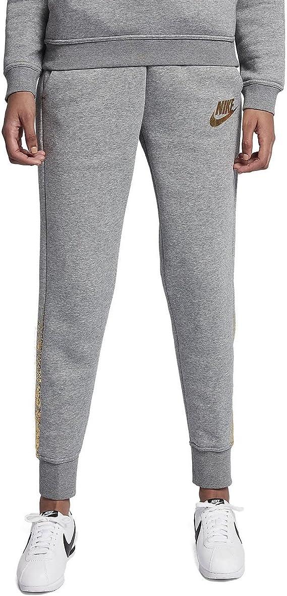 nike pantalon métallisé femme