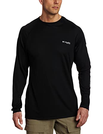 Amazon.com : Columbia Men's Terminal Tackle Long Sleeve Shirt ...