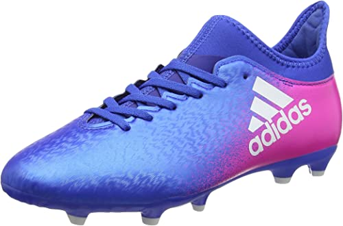 Adidas X 16.3 FGAG Chaussures de Football Garçon ,