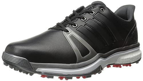 hot sale online 73a1b d1e7f Adidas Adipower Boost 2 - Zapatillas de Golf para Hombre, núcleo  NegroPlateado Oscuro