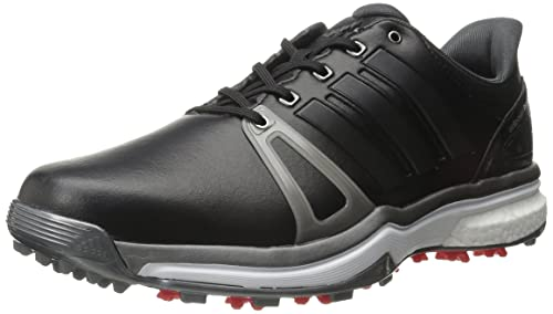 buy online 31675 68121 Adidas adiPower Boost 2 Golf con incisioni, nucleo nero  scuro argento  Metallics05  rosso, 7 M Us Amazon.it Scarpe e borse
