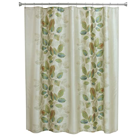 Bacova Guild Shower Curtain Waterfalls Leaves