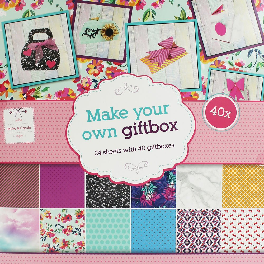 9ff8a08101fc2 Make Your Own Gift Box  Amazon.co.uk  Kitchen   Home