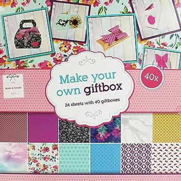 make your own gift box amazon co uk kitchen home