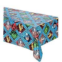 Procos mantel plástico 120x 180cm Avengers Mighty, Multicolor