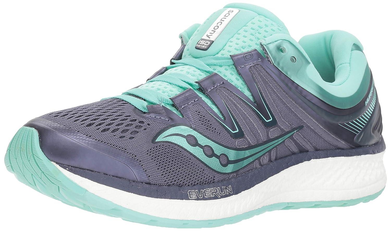 grau  Agua Saucony Hurricane ISO 4, Hausschuhe de Running para damen