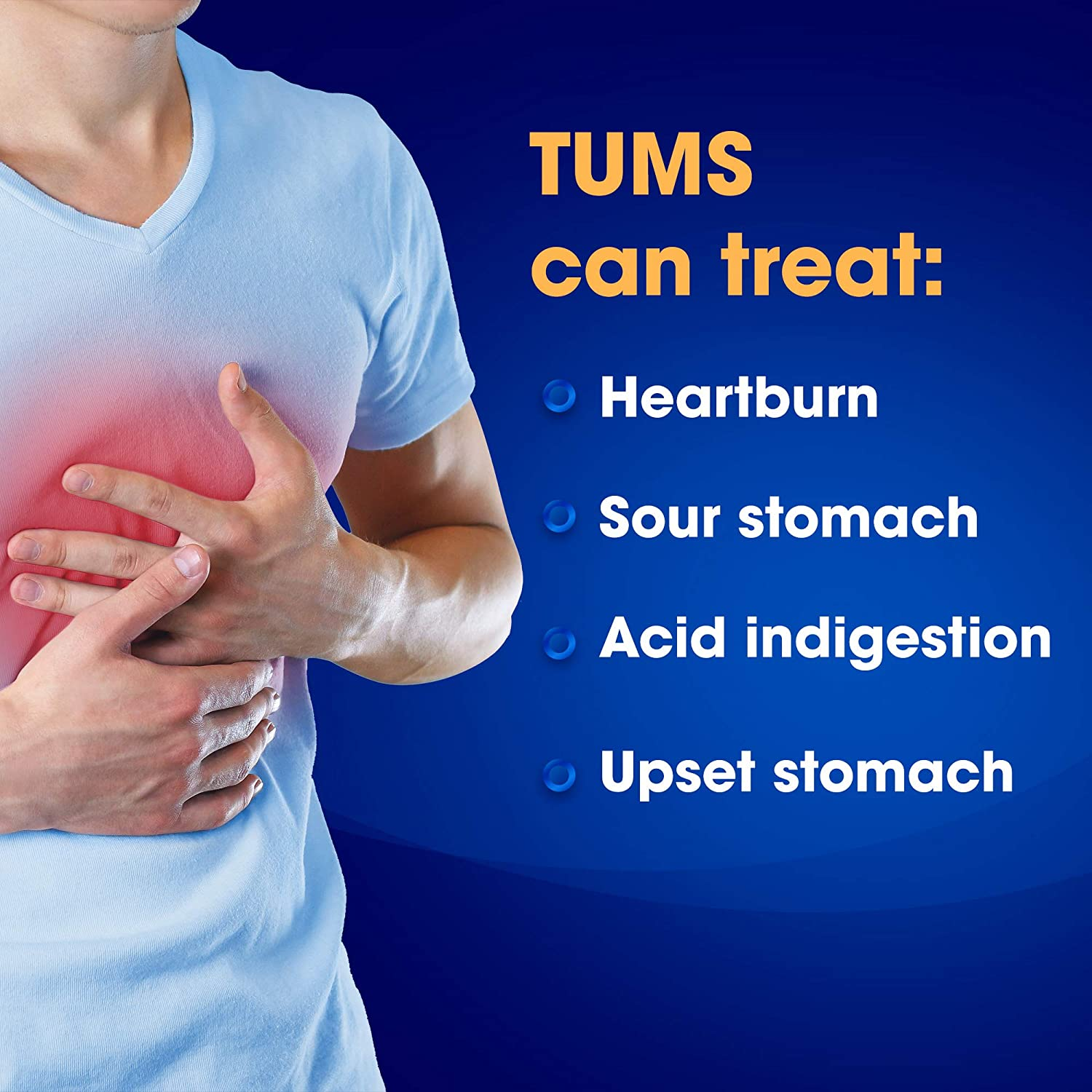 TUMS Antacid Chewable Tablets for Heartburn Relief, Extra Strength, Assorted Fruit, 330 Tablets: Health & Personal Care