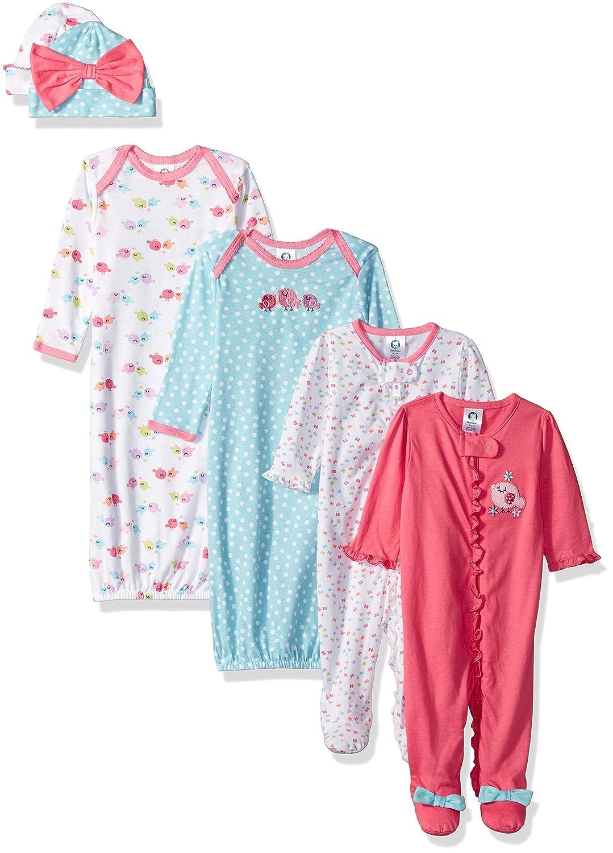 b0d081185bd2 GRNSHTS Baby Girls Floral Suspenders Pant Set Long Sleeve Romper + ...