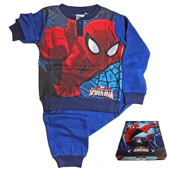 Spiderman - Pijama dos piezas - para niño turquesa 4 años 64e393082a7e0