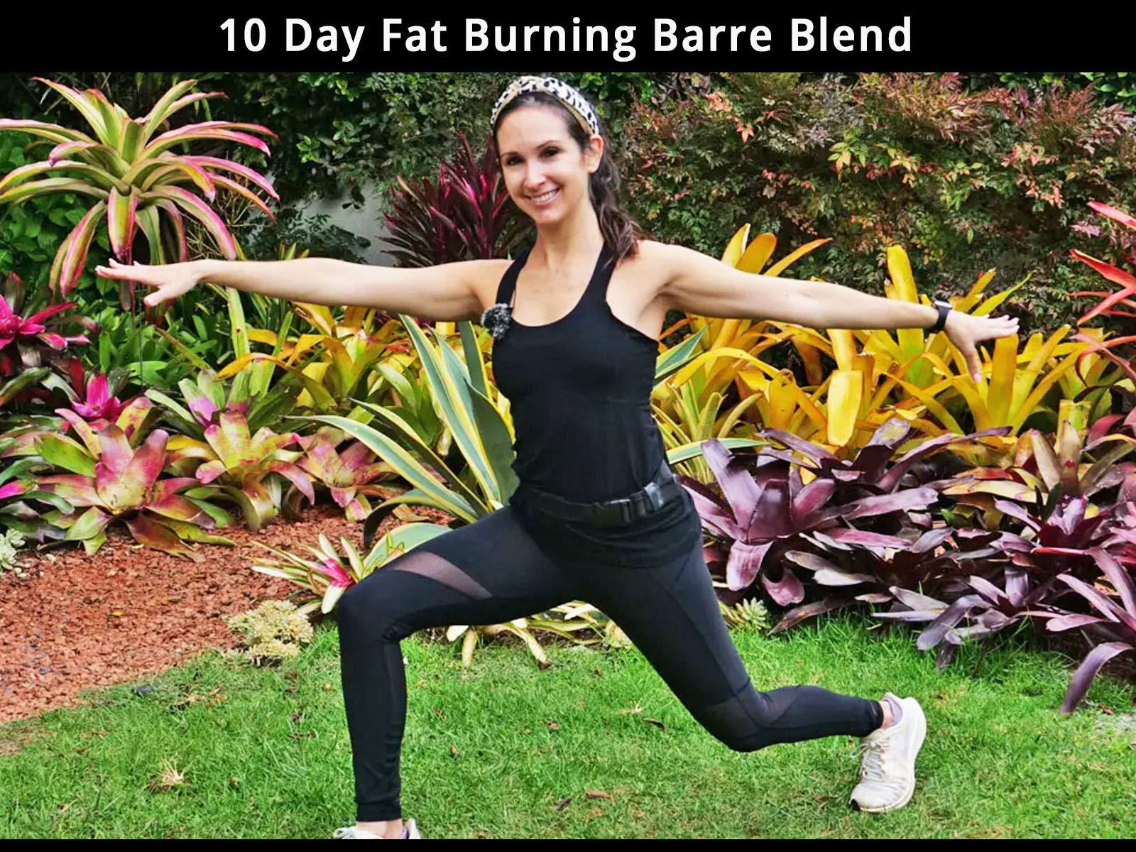 10 Day Fat Burning Barre Blend - Season 1