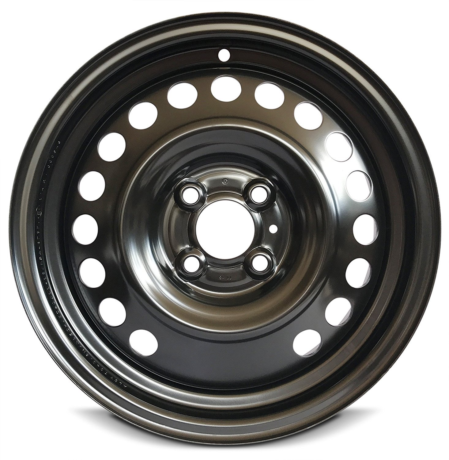 New Used Tires Wheels Rims In Orlando Fl Er Tire >> Road Ready Car Wheel For 2012 2019 Nissan Versa 15 Inch 4 Lug Black Steel Rim Fits R15 Tire Exact Oem Replacement Full Size Spare