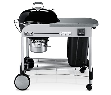 Weber Performer Premium.Weber 15401001 Performer Premium Charcoal Grill 22 Inch Black 0