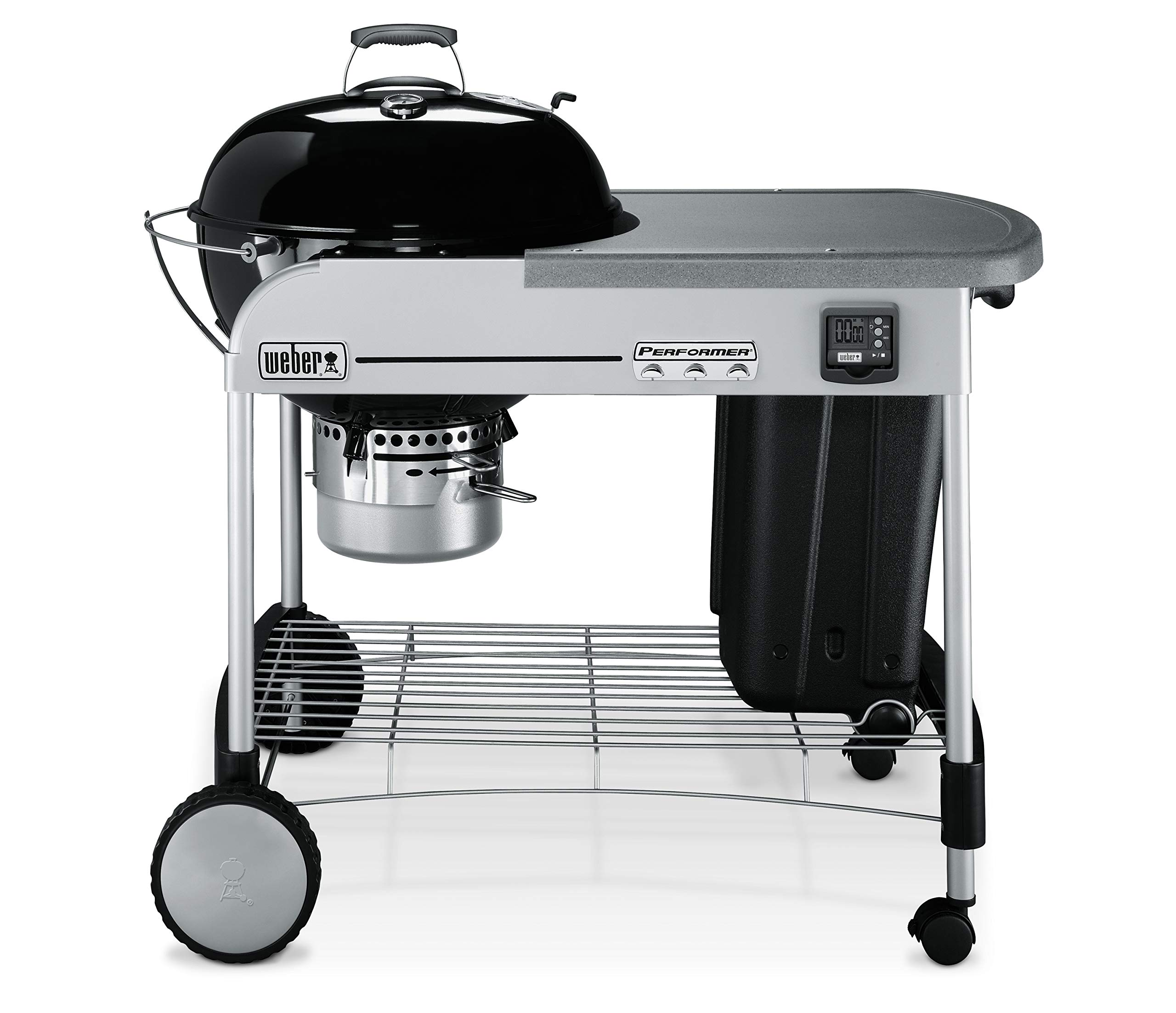 Weber 15401001 Performer Premium Charcoal Grill, 22-Inch, Black, 0,