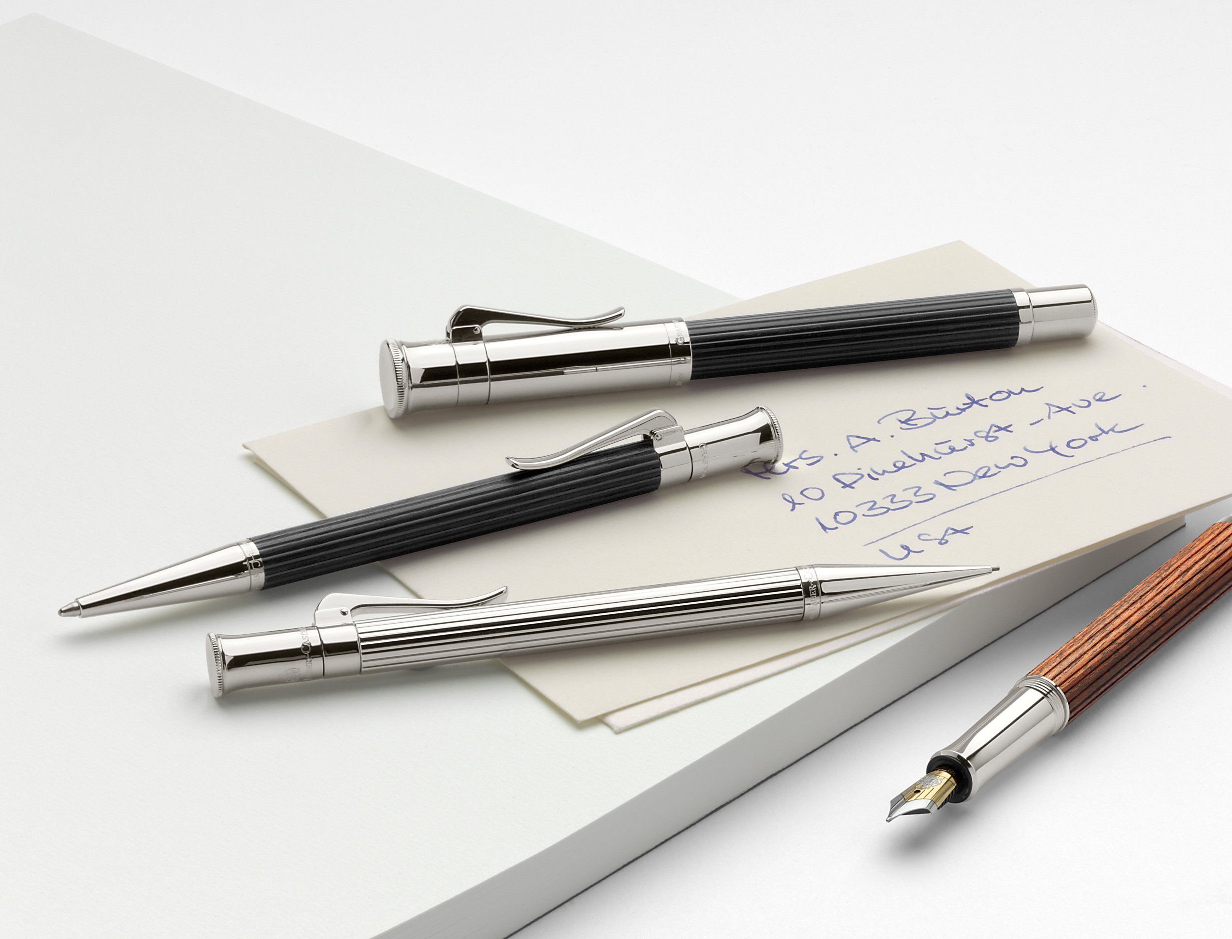Graf von Faber-Castell Classic Propelling Pencil - Sterling Silver by Faber-Castell (Image #2)