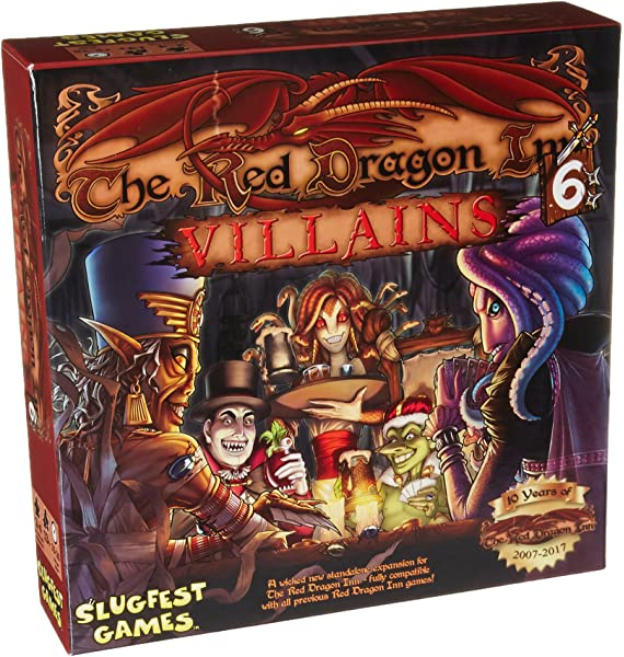 Slugfest Games The Red Dragon Inn Allies - Adonis vs  The