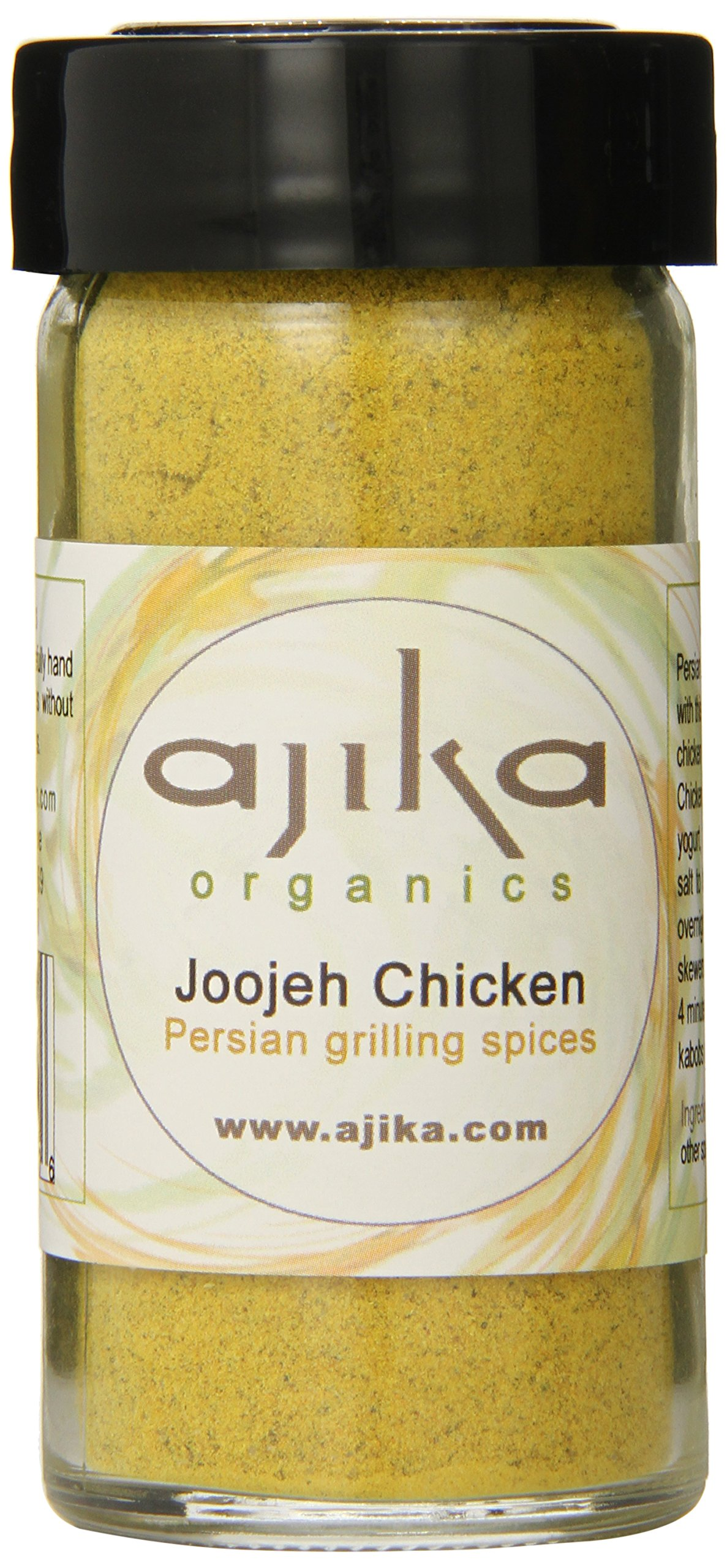 Ajika Organic Joojeh Chicken Grilling Persian spices, 2-Ounce