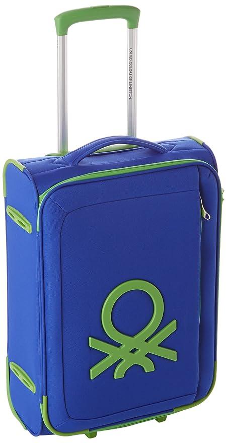 Benetton Maleta, Bleu (002) (Azul) - 72906_002: Amazon.es ...