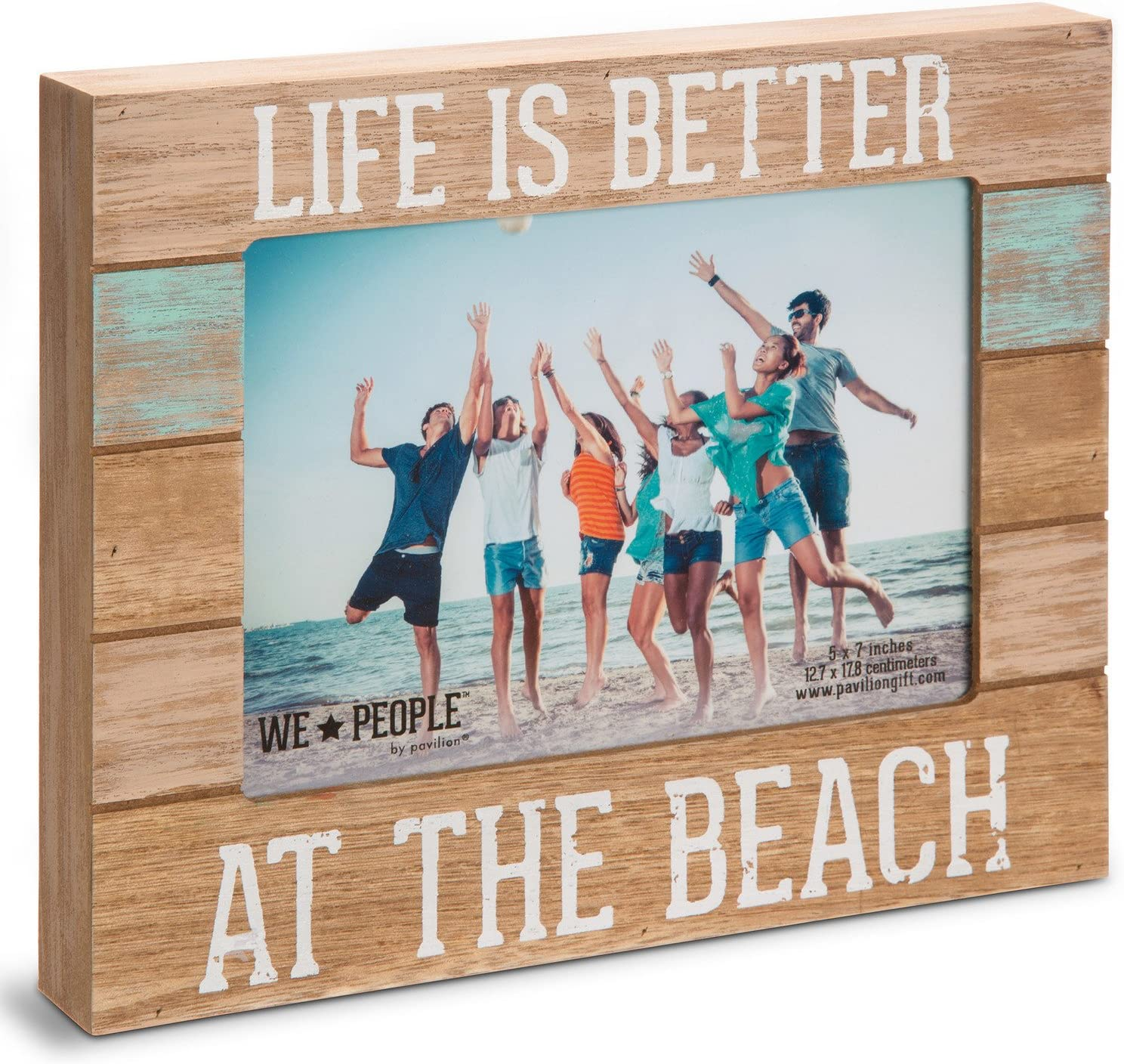 Life is Better at The Beach Picture Frame, 5″x7″
