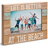"""Pavilion Gift Company 67242 We People-Life is Better at the Beach Picture Frame, 5""""x7"""""""