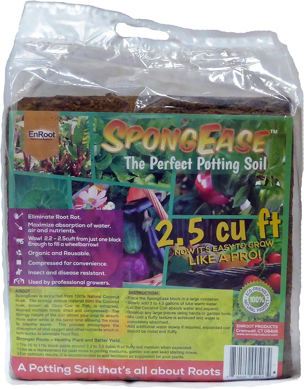 Spongease Coconut Coir Compressed Block