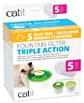 Catit 43746 2.0 Triple Action Water Softener