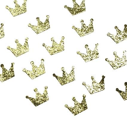 amazon com felt shapes 100 pack princess tiara craft felt cutout