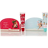 Island Kiss, 100% Natural & Organic Lip Balm & Stain Combo -Two Smack With Spf 15, Cherry Blossom Flores (14 Gms) + Peurto Berry Blush (14 Gms)