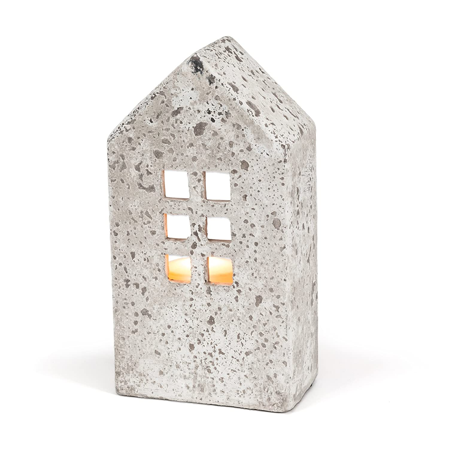 Abbott Collection Home Tall House Candle Holder WEICHI 27-RELIC/7505 LG