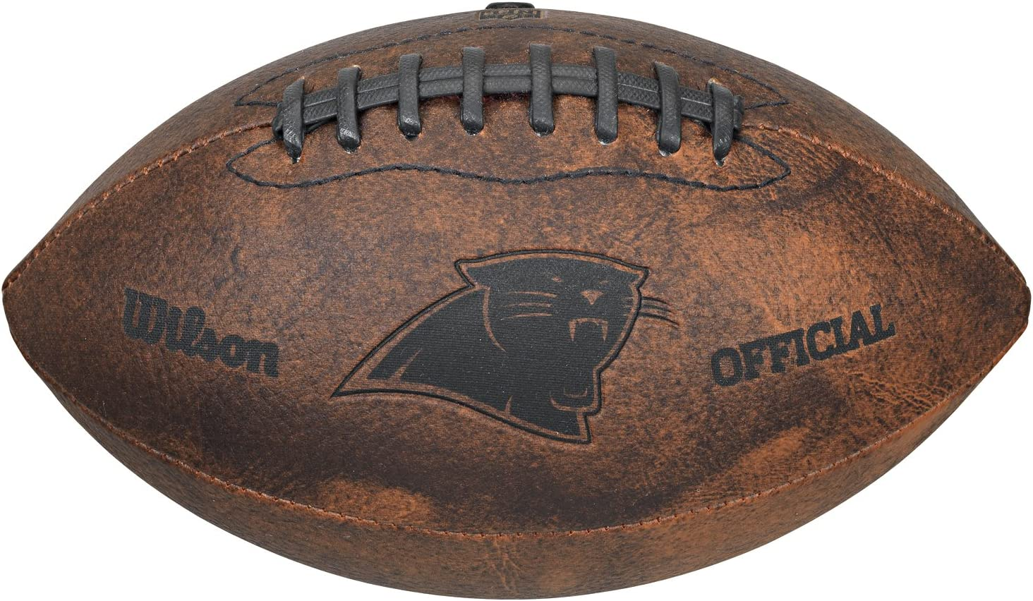 9-Inches NFL Carolina Panthers Vintage Throwback Football