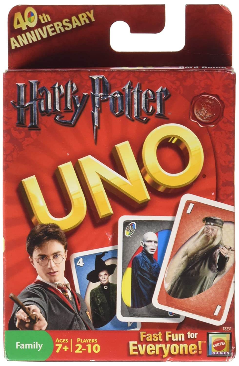 Mattel Harry Potter Uno Card Game - Mattel T8231