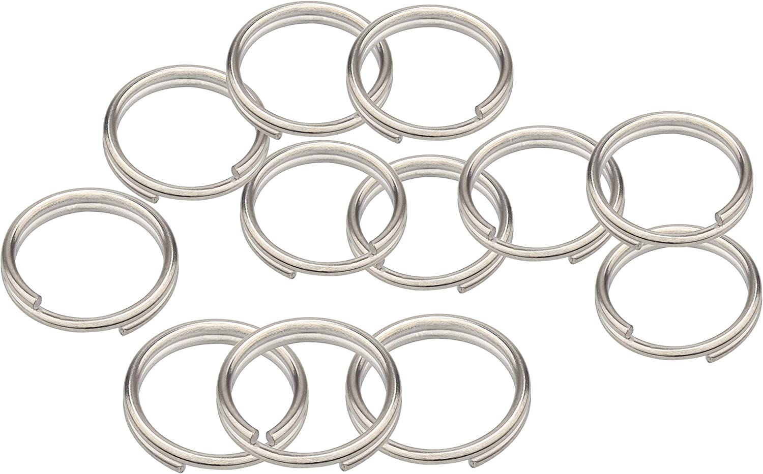 4 mm Bending Rings 100 Piece Open Jump Ring Spring Ring Connection Ring