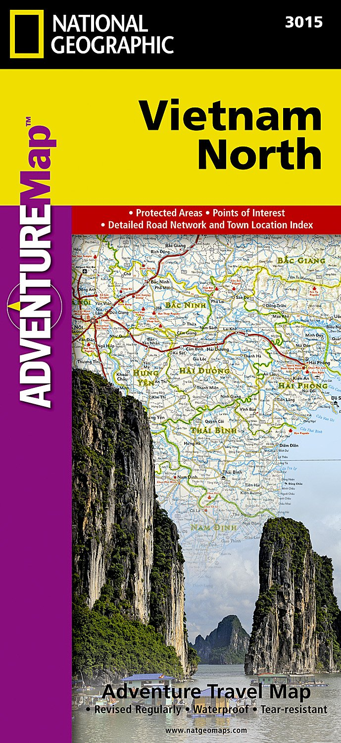 Download Vietnam North (National Geographic Adventure Map) pdf epub