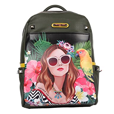 a807851ae7 Nicole Lee Women s Adeen Smart Lunch Backpack Vol. 2 (Vacation Girl in  Paradise)