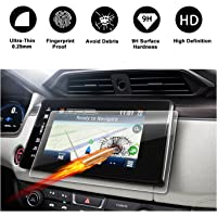 2018 Clarity Connect HondaLink 8-Inch Touch Screen Car Display Navigation Screen Protector, R RUIYA HD Clear Tempered Glass Protective Film